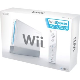 The Nintendo Wii, image courtesy of Nintendo